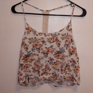 Forever 21 Floral Top Size L